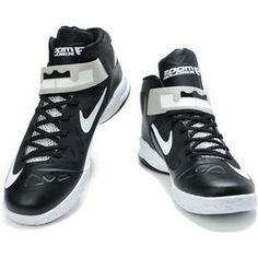 http://www.asneakers4u.com/ Nike Zoom Zoom LeBron Soldier 6 VI  Black/White/Grey Sale Price: $77.00