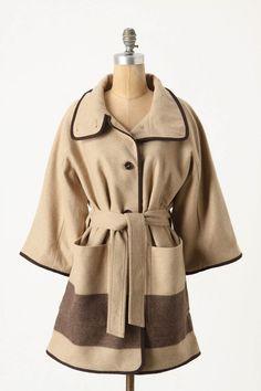 Dipped Nougat Coat