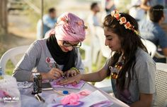 """diebrarian: """" pussylipglosss: """" sixpenceee: """" Iraqi girls at Peace Carnival in Baghdad to counter ISIS efforts to destroy civilian life """" Shit they don't want you to see """" (source) Other lovely pictures from the same event """" Karate Kick, Cool Iphone 6 Cases, Rage Comics, Neon Glow, Pictures Of People, Reasons To Smile, Baghdad, Faith In Humanity, People Around The World"""