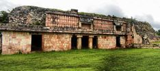 ruinas mayas de chacmultun, tekax yucatan