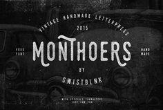 Swistblnk Monthoers Font | dafont.com