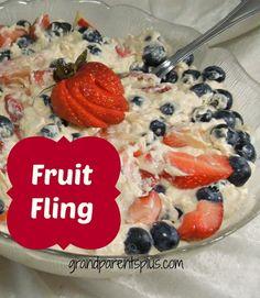 Fruit  Fling (dessert or salad?) on MyRecipeMagic.com