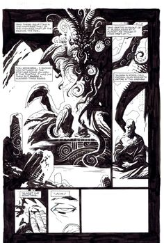 Hellboy Seed of Destruction 1 page 12 Comic Art