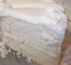 Success! This isa very moist, white cake. I have always stayed away from purely white cakes because I couldn't get them perfectly white. This is pretty close! I'm very happy with how the taste & texture turned out. With a touch of almond extract, this cake is similar to wedding cake made by a professional.…