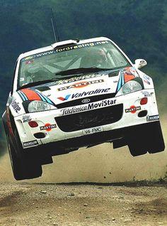 Ford Focus WRC, Carlos Sainz driving