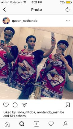 African Traditional Dresses, Traditional Outfits, African Attire, African Dress, Seshweshwe Dresses, Wedding Dresses, African Women, African Fashion, Zulu Warrior