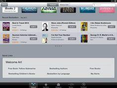 Apple iBookstore, bestsellers