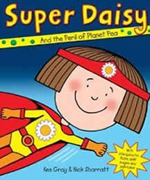 Buy Super Daisy by Kes Gray at Mighty Ape NZ. Planet Earth is in DANGER! It's on a fatal collision course with Planet Pea! If they crash then Planet Pea will explode into a gazillionpillio. Daisy Books, Super Hero Activities, People Who Help Us, Superhero Classroom, Superhero Preschool, Thing 1, Eyfs, Super Powers, My Hero