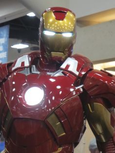 Ironman by Sideshow Collectibles - 2013 SDCC  #marvel #ironman #sideshowcollectibles #sdcc