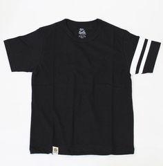 momotaro jeans MT301 Zimbabwe Tshirts BLACK