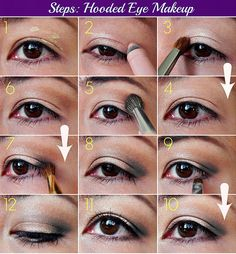 Pictures makeup tips for small eyes small eyes makeup jessica biel hooded eye makeup tutorial top 10 simple makeup tutorials for hooded eyes
