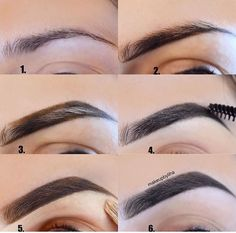 Make Up; Make Up Looks; Make Up Augen; Make Up Prom;Make Up Face; How To Trim Eyebrows, Filling In Eyebrows, Arched Eyebrows, Eye Brows, Pluck Eyebrows, Round Face Eyebrows Shape, High Arch Eyebrows, Makeup For Round Face, Thin Eyebrows