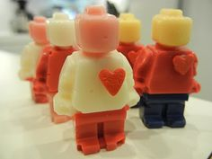 I love these Lego Valentines. It's doubtful I have the patience for them.