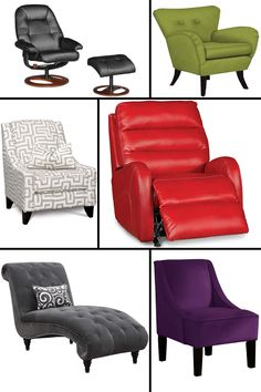 Have the most sought-after seat in the house! Choose from a wide variety of styles and colors.