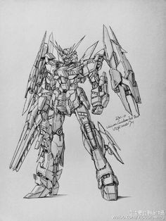 GUNDAM GUY: Awesome Gundam Sketches by VickiDrawing [Updated 9/27/16]