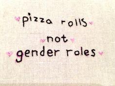 No gender roles!