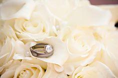 Wedding Rings in bride bouquet,Travis J Photography, Colorado