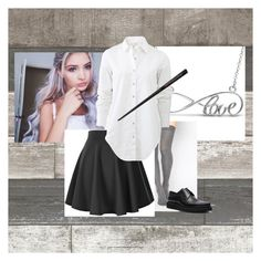 """Untitled #179"" by furffle ❤ liked on Polyvore featuring Allurez, ASOS, rag & bone and Lanvin"
