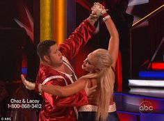 Dancing With The Stars Season 13 Fall 2011 Chaz Bono and Lacey Schwimmer