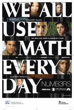 Numb3rsthey Make Math Look Amazing And Way Cooler Than I Used To