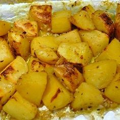 Greek Lemon Potatoes: Simple recipe but with great results!