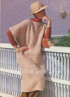 Ladies patchwork blanket Poncho knitting  pattern. Instant PDF download! by VBlittlecraftshop on Etsy