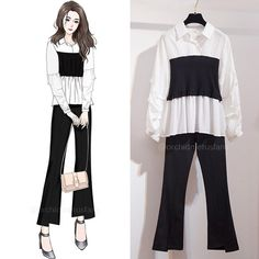 Kpop Fashion Outfits, Korean Outfits, Girly Outfits, Cute Outfits, Stylish Dresses, Cute Dresses, Boyish Style, Fashion Drawing Dresses, Dress Sketches
