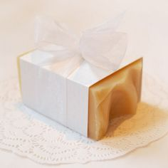From Simply Soap--love this idea for a party favor.