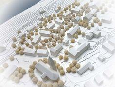 1st Prize: Modell, © MORPHO-LOGIC | Architektur und Stadtplanung, Lex-Kerfers Landschaftsarchitekten BDLA