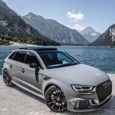 Audi ABT with . Is this the perfect toy to drive every day? Audi Sportback, Audi Rs3, Audi A6 Allroad, Audi Wagon, Suv Cars, Sport Cars, Black Audi, Vw Passat, Amazing Cars