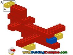 Duplo vehicle - Airplane