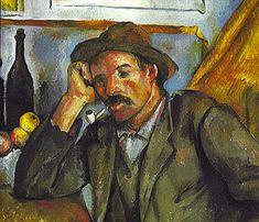 El fumador, h. 1893, Paul Cézanne