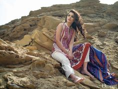 Orient Textile Embroidered Kurti Collection 2016 Vol-02