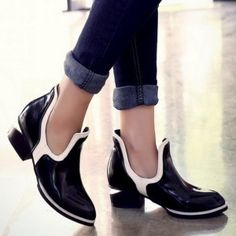 e2765acd0318 Vintage-Sexy-Square-Heels-Women-Novelty-Design-Women-Ankle-Boots -Color-Matching-Fashion-Boots-Fashion-20151