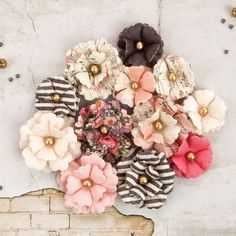 246 best beautiful prima paper flowers images on pinterest paper rossibelle flowers arabella paper flower tutorialprima mightylinksfo