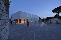 Turato Architects - Project - Sports Hall and Public Square in Krk  Photos: Sandro Lendler