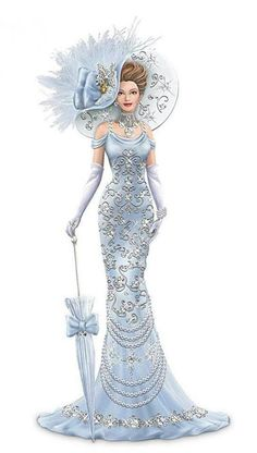 Fashion Illustration. Makes me think of My Fair Lady