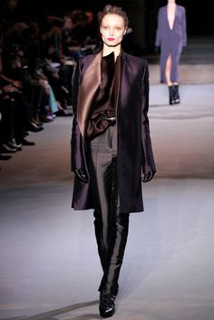 Haider Ackermann Fall 2012 Beautiful color and fabric combination
