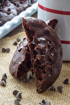 Mi toque en la cocina: Galletas fudge de chocolate y yogur griego