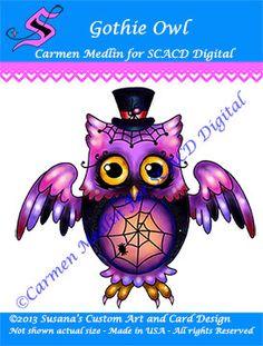 Gothie Owl
