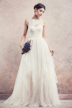 divine atelier bridal 2014 sleeveless ball gown wedding dress anisia