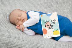 Milestone Baby Cards