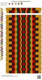 off loom beading techniques Inkle Weaving Patterns, Loom Weaving, Loom Patterns, Beading Patterns, Bead Loom Designs, Inkle Loom, Card Weaving, Beaded Bracelet Patterns, Jewelry Patterns