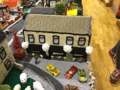 See an Entire Northern Ireland Village Knitted Out of Wool - Atlas Obscura County Cork Ireland, Galway Ireland, Irish Cottage, Yarn Bombing, Northern Ireland, Decoration, Knitting Patterns, Knitting Ideas, Crochet Projects