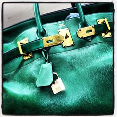 #Hermes HAC Green 50 cm