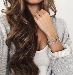 The hair color is beautiful! My natural color, without the highlights.