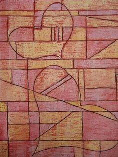 Paul Klee style heart project