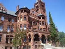 """Preston Castle, as seen on Ghost Adventures in Ione, California. Lots of """"lost"""" spirits that need to go """"home"""" ( the poster has more guts than I do) Scary Places, Great Places, Places To See, Vacation Destinations, Vacation Spots, Dream Vacations, Haunted Places In California, Preston Castle, Ghost Adventures"""