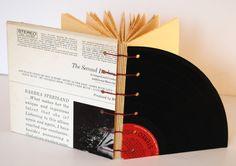 Recycled Vinyl Record Journal: Barbara Streisand. $24.00, via Etsy.