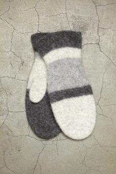 Strikk og Tov 9-5 - Votter | Rauma Garn Mittens Pattern, Cat Pattern, Free Pattern, Wool Gloves, Mitten Gloves, Drops Design, Free Knitting, Knitting Patterns, Drops Karisma